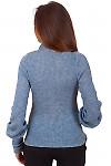 Фото Гольф серый вязаный теплый Деловая женская одежда