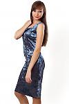 Купить сарафан женский из бархата. Деловая женская одежда