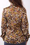Фото Блузка с цветочным принтом Деловая женская одежда
