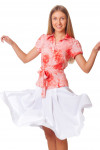 Купить блузку с поясом Деловая женская одежда