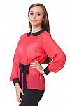 Купить коралловую блузку Деловая женская одежда