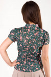 Фото Блузка летняя из хлопка Деловая женская одежда