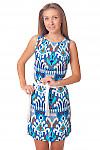 Купить летнее платье с узором Деловая женская одежда