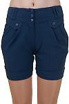 Купить шорты синие Деловая женская одежда