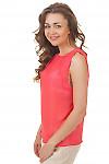 Купить топ коралловый  Деловая женская одежда