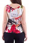 Фото Топ с принтом Деловая женская одежда