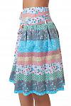 Купить летнюю юбку в полоску Деловая женская одежда