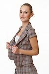 Купить жакет в клетку Деловая женская одежда
