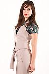 Фото Офисная жилетка Деловая женская одежда