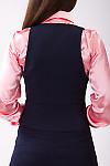 Фото Жилетка с воротником Деловая женская одежда