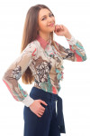 Купить блузку с жабо Деловая женская одежда