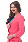 Купить розовый жакет Деловая женская одежда