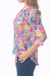 Купить цветную блузку Деловая женская одежда
