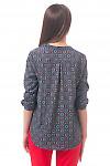 Фото Блузка с удлиненной спинкой Деловая женская одежда