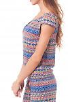 Купить топ в разноцветный узор Деловая женская одежда