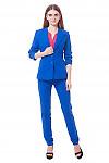 Фото костюма с жакетом цвета электрик