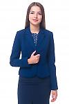 Жакет женский синий классический Деловая женская одежда
