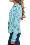 Блузка из вискозы Деловая женская одежда фото