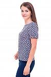 Купить блузку персиковую с капелькой Деловая женская одежда фото