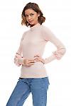 Купить тёплый гольф с люрексом Деловая женская одежда фото