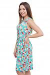 Платье с поясом Деловая женская одежда фото