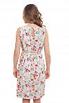 Платье в цветы Деловая женская одежда фото
