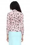 Блузка облегающая Деловая женская одежда фото